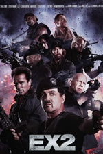 The Expendables 2 iPhone Wallpaper