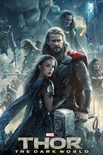 Thor: The Dark World 2013 iPhone Papéis de Parede