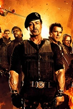 O filme Expendables 2 iPhone Wallpaper