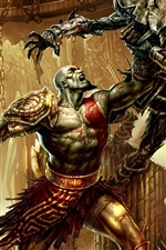 God of War 3 jogo para PC iPhone Wallpaper