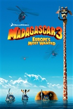 Madagascar 3 iPhone Wallpaper