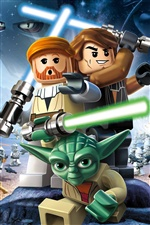 LEGO Star Wars III: The Clone Wars iPhone Papéis de Parede