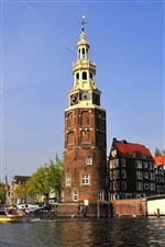 Holanda Amsterdam iPhone Wallpaper