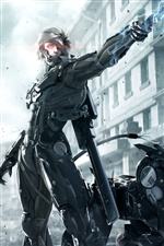 PC jogo Metal Gear Rising: Revengeance iPhone Wallpaper