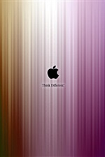 A Apple acha que diferentes listras, roxo iPhone Wallpaper