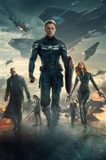 Captain America: The Winter Soldier iPhone Papéis de Parede