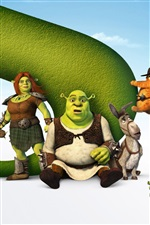 Shrek Forever After iPhone Wallpaper