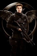 Liam Hemsworth, The Hunger Games: Mockingjay, Parte 1 iPhone Papéis de Parede