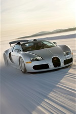 2008 Bugatti Veyron Grand Sport velocidade roadster iPhone Wallpaper