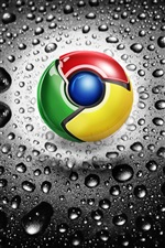 Logotipo do Google Chrome iPhone Wallpaper