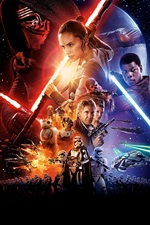 Star Wars: The Force desperta de 2015 filme iPhone Wallpaper