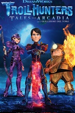 Trollhunters, terceira temporada iPhone Wallpaper